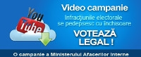 Video Campanie Voteaza Legal